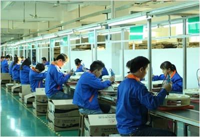 成品组装生产线数量:4条